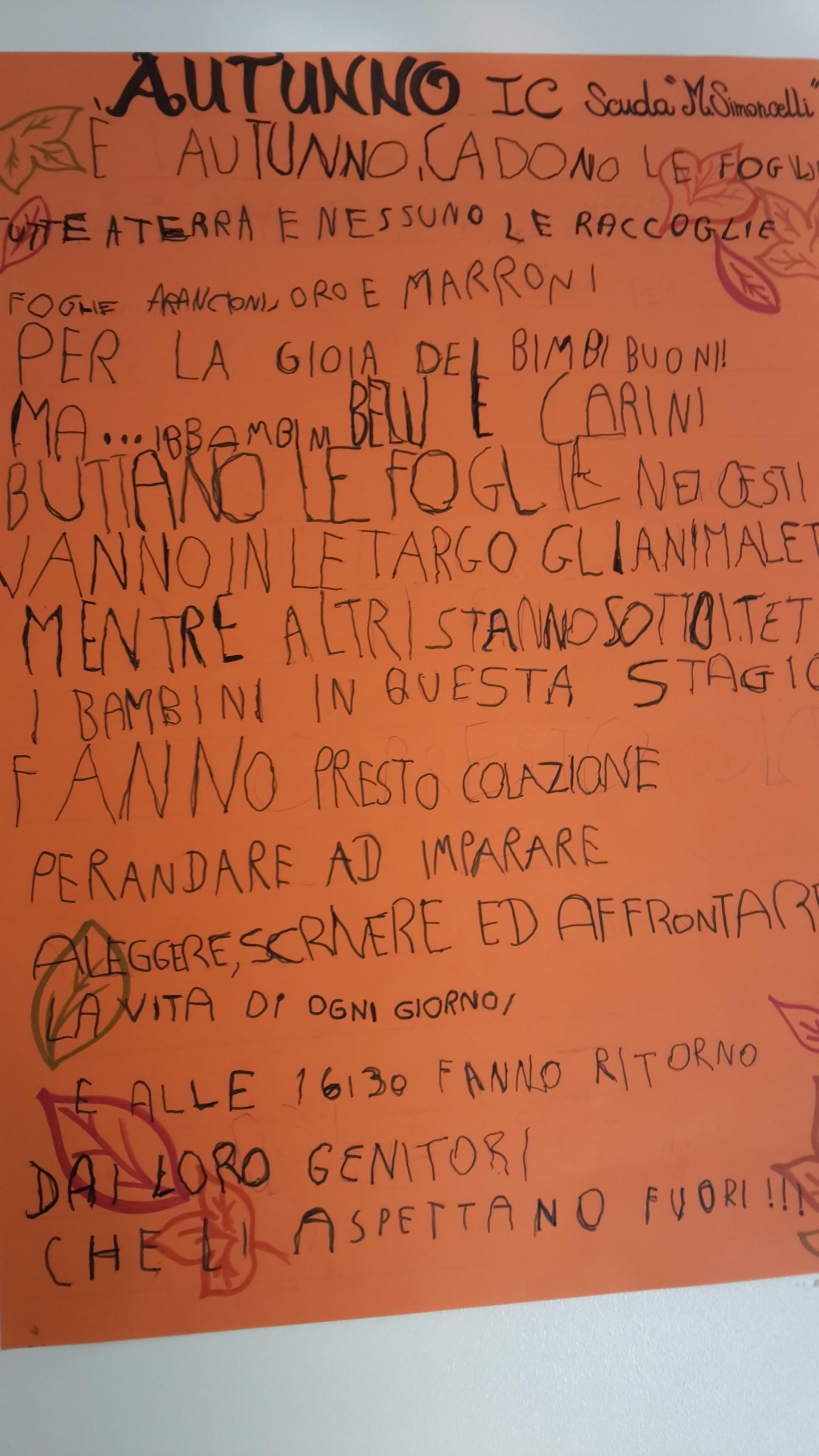 Accoglienza Prime Scuola Primaria M.Simoncelli - Foto 23